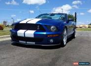 2007 Ford Mustang GT500 for Sale
