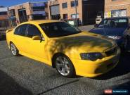 2005 Ford Falcon BA XR6 Yellow Automatic 4sp A Sedan for Sale