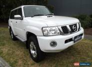 2010 Nissan Patrol GU VI ST (4x4) White Automatic 4sp A Wagon for Sale