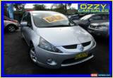 Classic 2006 Mitsubishi Grandis BA MY06 Silver Automatic 4sp A Wagon for Sale
