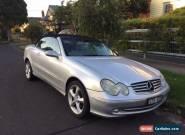 Mercedes Benz Convertible CLK320 for Sale