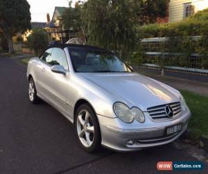 Classic Mercedes Benz Convertible CLK320 for Sale