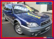 2003 Subaru Outback MY03 H6 Luxury Blue Automatic 4sp A Wagon for Sale