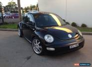 2001 Volkswagen Beetle 9C 2.0 Automatic 4sp A Hatchback for Sale