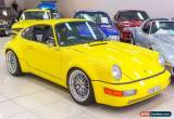 Classic 1975 Porsche 911 S 2.7 Yellow Manual 5sp M Coupe for Sale
