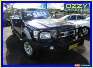 2007 Ford Ranger PJ XLT (4x4) Blue Manual 5sp M for Sale