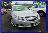 Classic 2011 Holden Cruze JH MY12 CDX Silver Automatic 6sp A Sedan for Sale