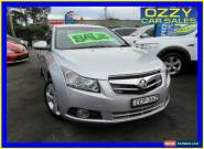 2011 Holden Cruze JH MY12 CDX Silver Automatic 6sp A Sedan for Sale