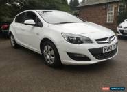 2013 63 VAUXHALL ASTRA ES CDTI WHITE 1 OWNER FROM NEW FULL HISTORY  for Sale