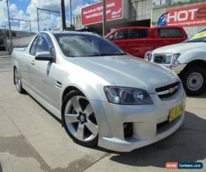 Classic 2008 Holden Ute VE SS V Silver Automatic A Utility for Sale