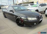 2007 Holden Ute VZ MY06 SVZ Black Automatic 5sp A Utility for Sale