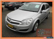2007 Holden Astra AH MY07 CD Silver Automatic 4sp A Wagon for Sale