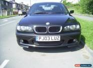 bmw 320d m sport in cosmo black for Sale