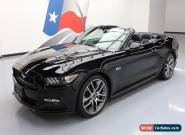 2016 Ford Mustang GT Premium Convertible 2-Door for Sale