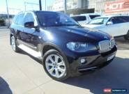 2008 BMW X5 E70 MY09 xDrive48i Blue Automatic A Wagon for Sale