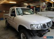 Nissan GU Patrol race car project ... suit finke , safari or comp truck  for Sale