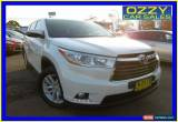 Classic 2014 Toyota Kluger GSU50R GX (4x2) White Automatic 6sp A Wagon for Sale