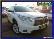 2014 Toyota Kluger GSU50R GX (4x2) White Automatic 6sp A Wagon for Sale