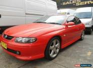2002 Holden Monaro V2 Series II CV8 Red Manual 6sp M Coupe for Sale