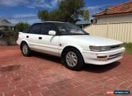 toyota corolla 1993 sx twin cam seca for Sale