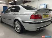 BMW 3 SERIES 325 325I E46 SALOON SILVER  MSPORT BODY KIT LEATHER  for Sale