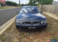 BMW 745i for Sale