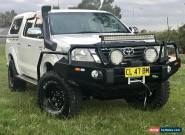 2011 Toyota Hilux SR MY12 4 Speed Automatic KUN26R Double Cab Dual Cab 4x4 Ute  for Sale