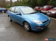 2001 Y FORD FOCUS 1.8 ZETEC 5 DOOR IN  BLUE for Sale