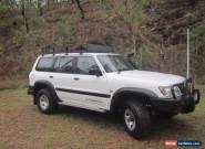 1999 NISSAN GU PATROL 4.2L TD42T for Sale