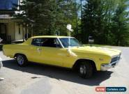 Chevrolet: Caprice Classic Coupe for Sale