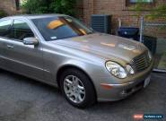 2004 Mercedes-Benz E-Class 4MATIC for Sale