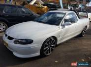 2001 Holden Commodore VU White Manual 5sp M Utility for Sale