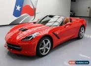 2015 Chevrolet Corvette Stingray Convertible 2-Door for Sale