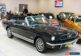 Classic 1966 Ford Mustang Black Automatic A Convertible for Sale