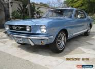 1966 Ford Mustang 2 Door for Sale