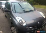 2005 NISSAN MICRA S GREY for Sale