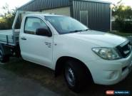2010 TOYOTA HILUX SR cab chassis V6 5 speed AUTO +MORE for Sale