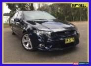 2011 Ford Falcon FG XR6 Blue Automatic A Sedan for Sale
