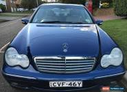 Mercedes-Benz c180 Kompressor 2003 for Sale