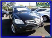 2007 Mercedes-Benz ML W164 320 CDI Luxury (4x4) Black Automatic 7sp A Wagon for Sale