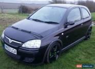 2003 VAUXHALL CORSA SRI 16V BLACK 1.8L for Sale