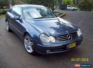2003 CLK 240 Mercedes Benz Avantegarde for Sale