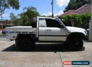 2001 Toyota Landcruiser HZJ100R (4x4) White Manual 5sp M Cab Chassis for Sale