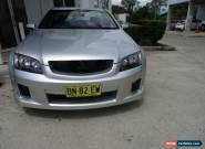 2009 Holden Commodore VE MY09.5 SV6 Silver Manual 6sp M Utility for Sale