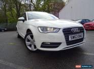 63 PLATE AUDI A3 1.6 TDI SPORT AUTOMATIC WHITE  for Sale