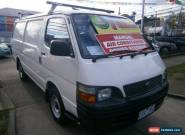 2004 Toyota Hiace RZH113R White Manual 5sp M for Sale