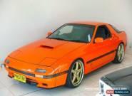 1986 Mazda RX7 Orange Automatic A Coupe for Sale