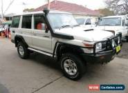 2011 Toyota Landcruiser VDJ76R 09 Upgrade GXL (4x4) White Manual 5sp M Wagon for Sale