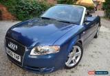 "Classic 2006 ""56"" AUDI A4  2.0TDI SPORT LINE CONVERTIBLE 6 SPEED * GREAT CAR * for Sale"