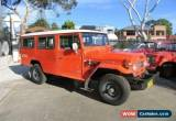 Classic 1979 Toyota Landcruiser FJ45RV LWB TROOP CARRIER (4x4) Red Manual 4sp M Hardtop for Sale